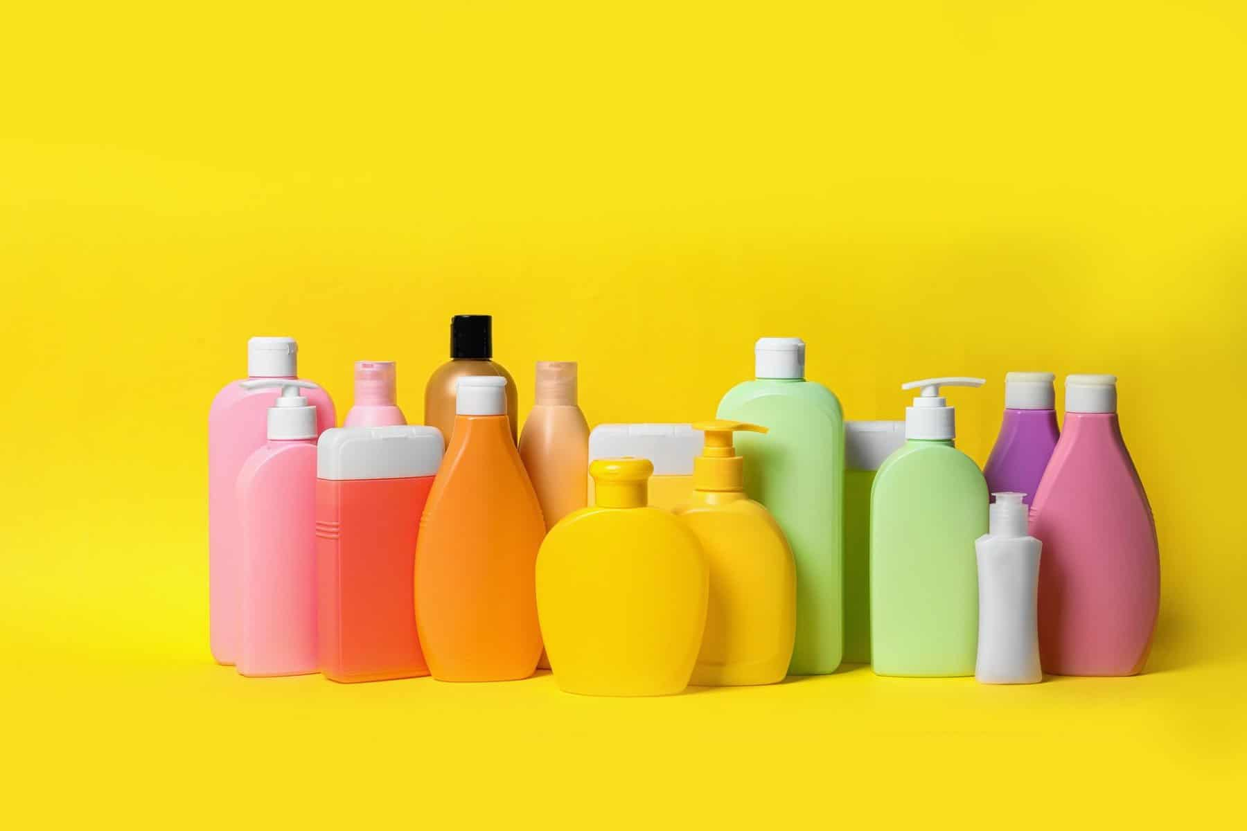 this is a picture of bottles of shampoo on yellow background. Natural cosmetic products showing different competitor prices or an article by Octopus Intelligence. We isolate your problems, reduce risk and uncertainty and deliver intelligence-led answers and innovative solutions. Dedicated to help you win. Download our competitor is cheaper than us template Prices Different Product technology and warning related Intelligence questions